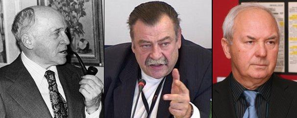 """Mykola Lebed (""""Devil""""), Roman Kupchinsky, Alexander Skipalsky."""
